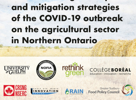 Understanding the Effects of COVID-19 on Agriculture in Northern Ontario