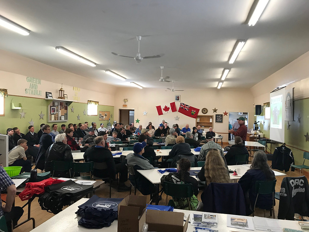 Grazing Workshop with Steve Kenyon in Porquis Junction (Cochrane District)