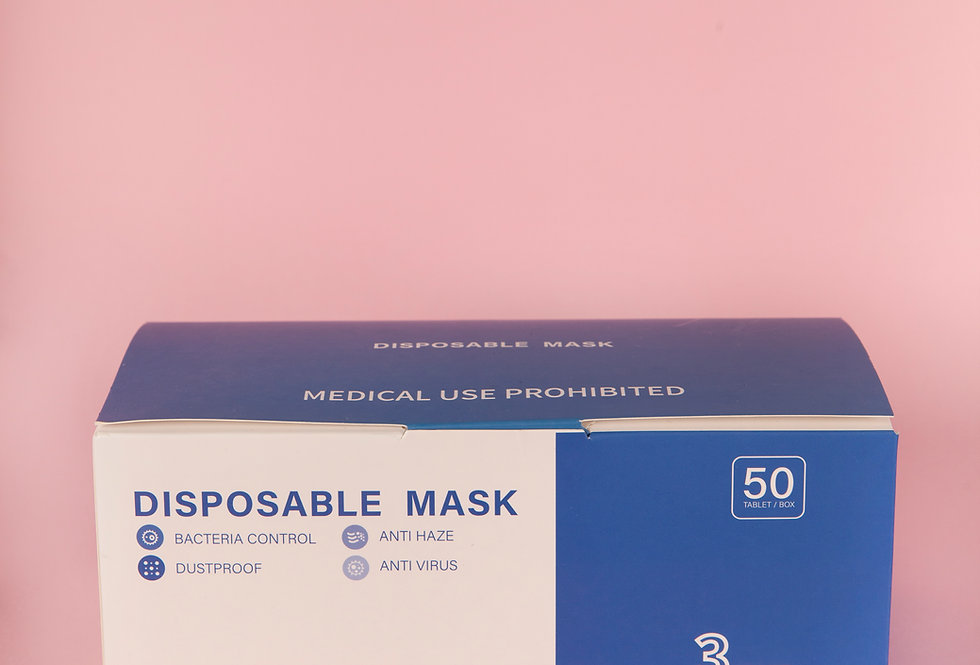 Disposable Mask (Black)