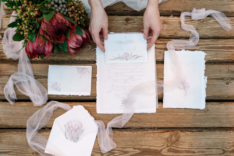 Свадебная полиграфия, приглашения