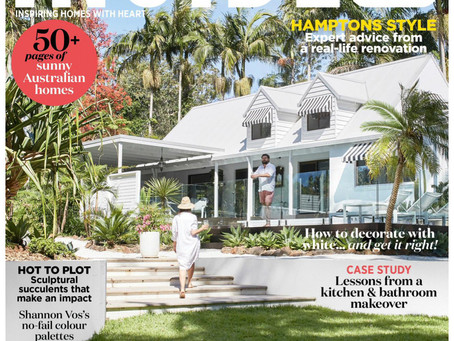 Published - Inside Out Magazine featuring our Channel Street Project, Mornington