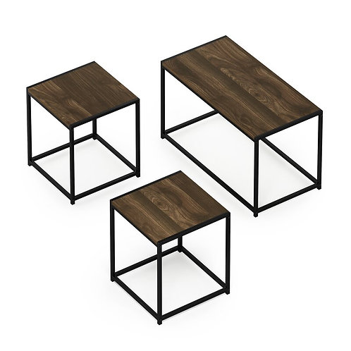 Shadow Coffee Table & Two End Tables