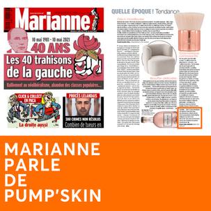 MARIANNE PARLE DE PUMP'SKIN