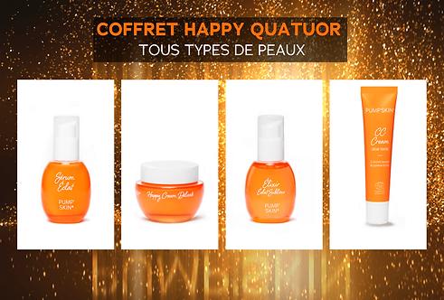 COFFRET HAPPY QUATUOR - TOUS TYPES DE PEAUX