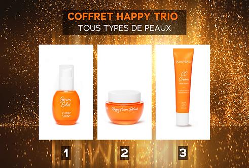 COFFRET HAPPY TRIO - TOUS TYPES DE PEAUX