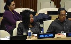 United Nations speech Nicole Slack Jones
