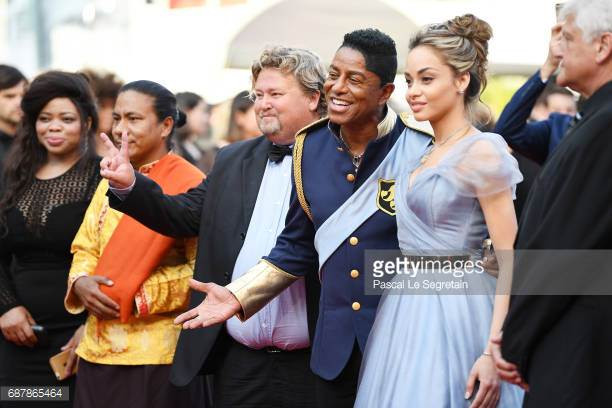Nicole Slack Jones and Jermaine Jackson