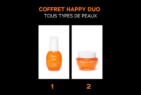 COFFRET HAPPY DUO - TOUS TYPES DE PEAUX