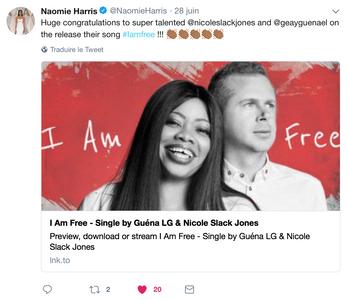 Thanks Naomie Harris