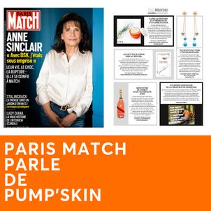 PARIS MATCH PARLE DE PUMP'SKIN
