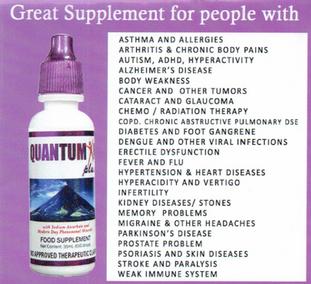 Quantumin Plus - UK Agent