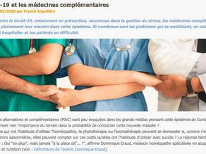 Interview du Dr. ERAUD pour Vie Saine et Zen : Le Covid-19 et les médecines complémentaires