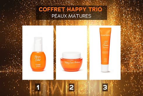 COFFRET HAPPY TRIO - PEAUX MATURES