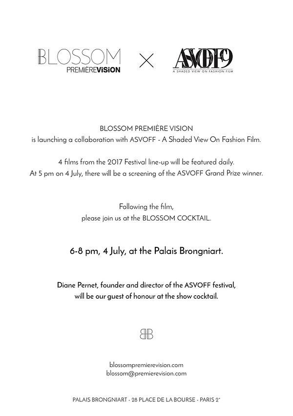 ASVOFF | Diane Pernet | BLOSSOM | A Shaded View On Fashion Film