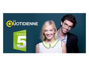Retrouvez le Dr. ERAUD le jeudi 12 novembre à 11h45 dans La Quotidienne sur France 5