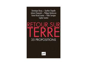 Philippe Desbrosses, co-créateur de PUMP'SKIN, participe à un livre : RETOUR SUR LA TERRE