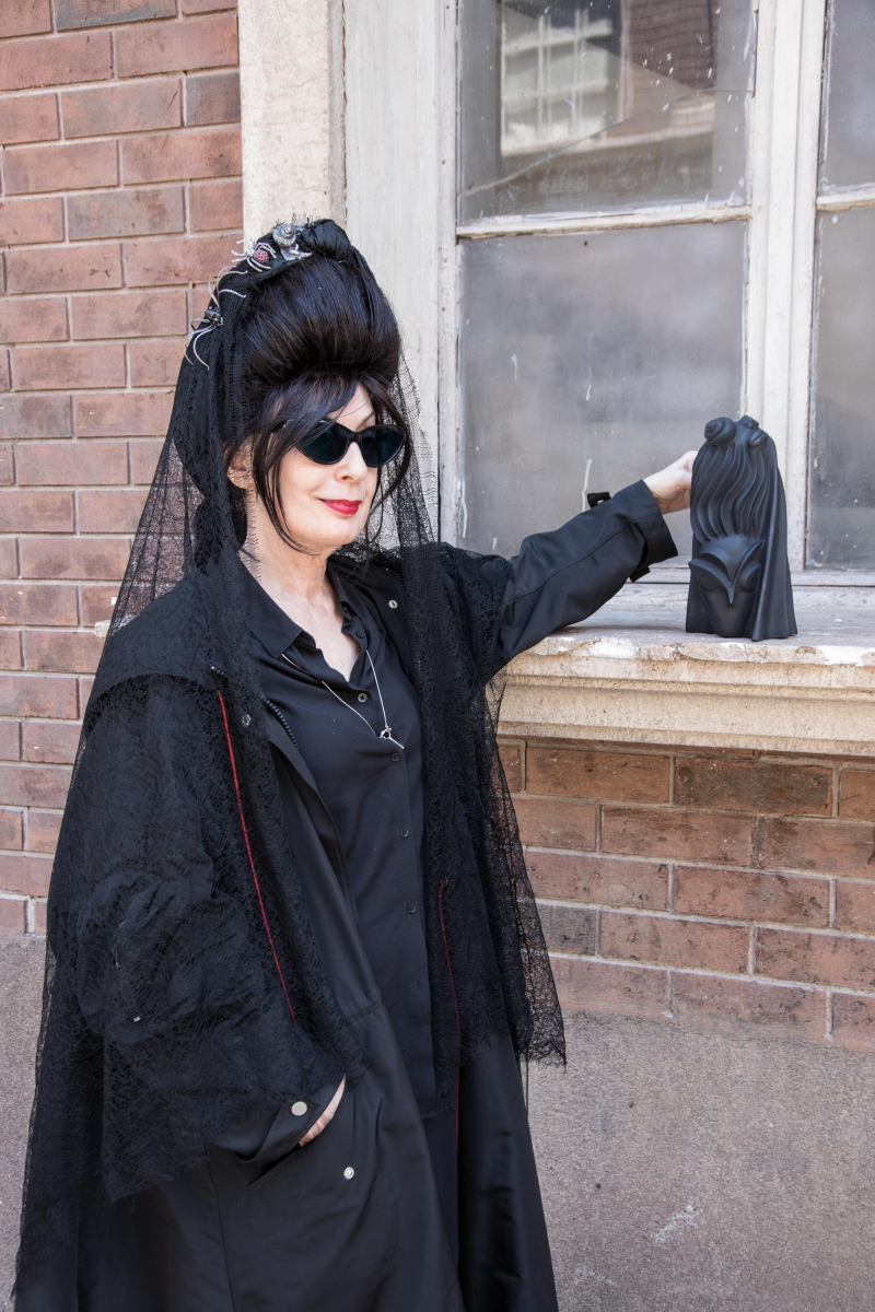 Diane Pernet & The Trophy
