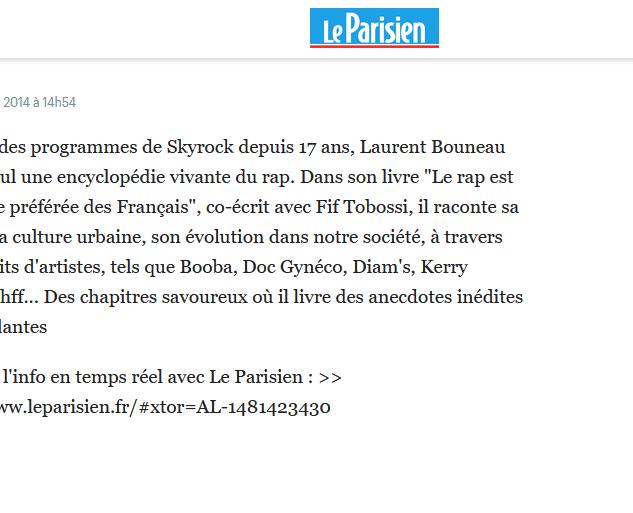 LE PARISIEN (2/2)