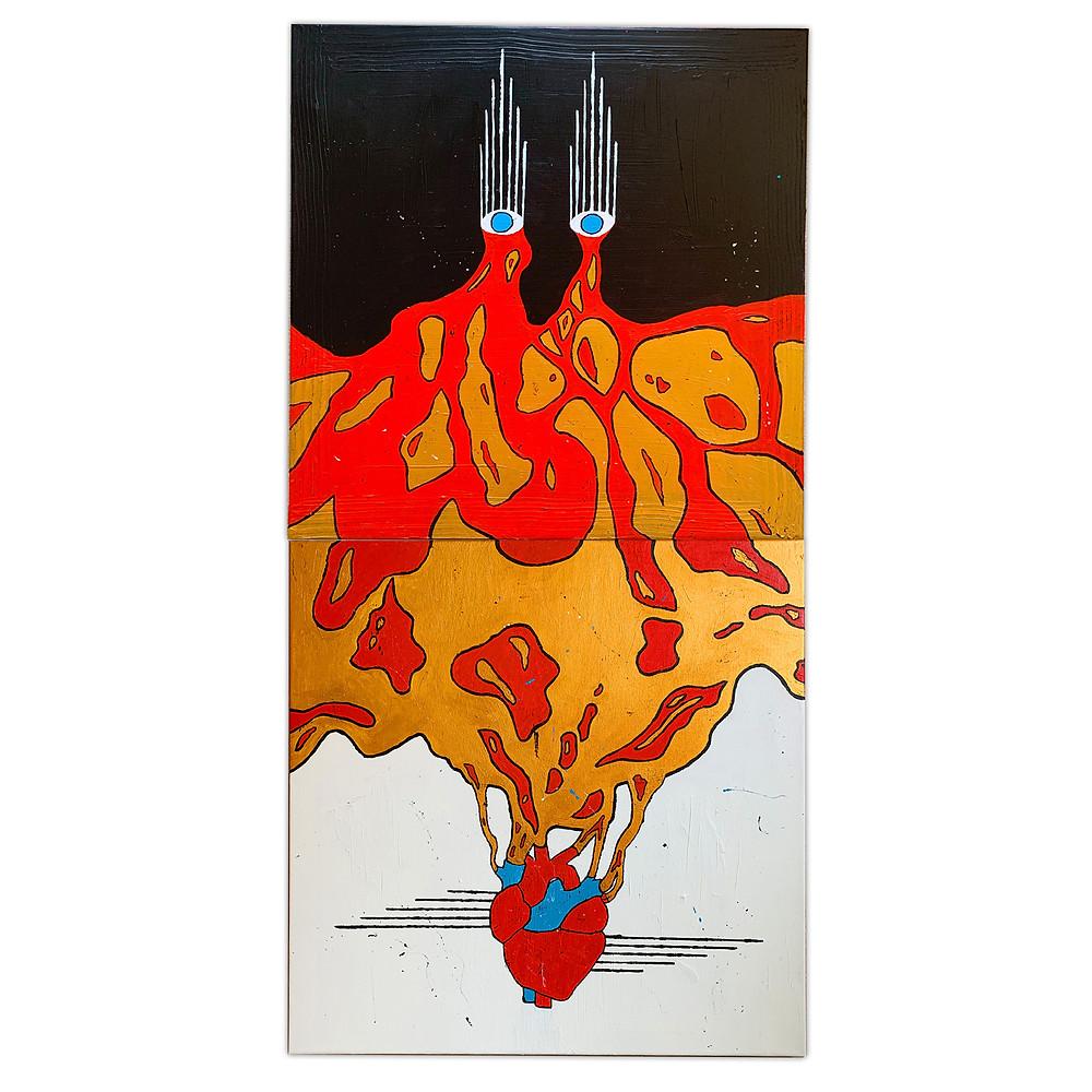 Tiger Mimic - Bram Johnson's painting