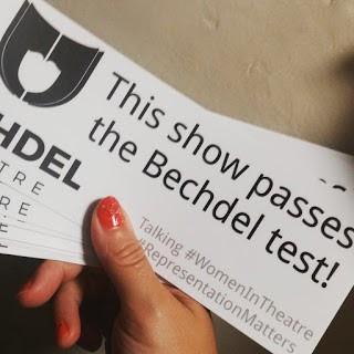 Bechdel Testing Edinburgh Fringe 2018