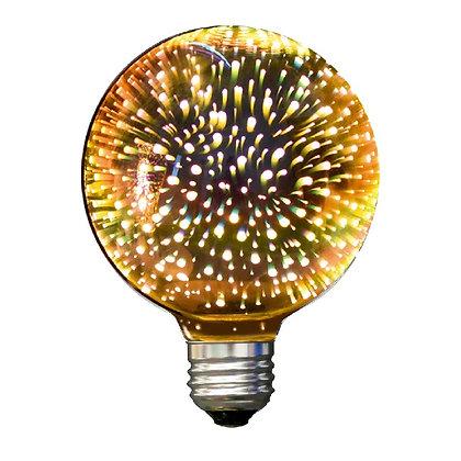 LED 3D G95 6W E26 130V