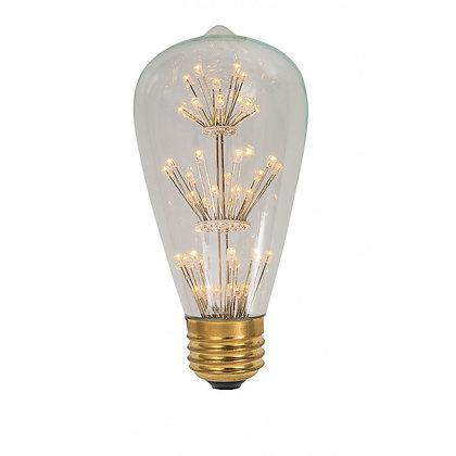 Bombilla decorativa de LED Campana, 127V 4.5W Base E27 2300K