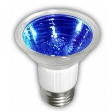 LAMPARA HALOGENO JDR 50W E26 AZUL