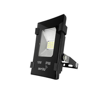 REFLECTOR LED SMD CUADRADO SLIM 10W BLANCO CALIDO