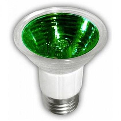 LAMPARA HALOGENO JDR 50W E26 VERDE