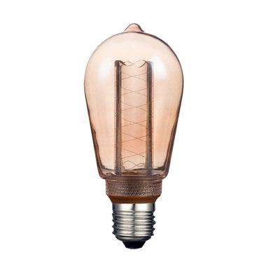 LAMP LED ST64 TIPO FILAMENTO 3W 2000K E27