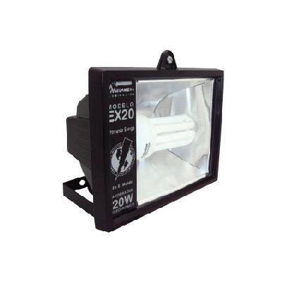 REFLECTOR FLUORESCENTE EXTERIOR 20W