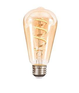 Bombilla de filamento LED Espiral Vertical 127V~ 4.5W