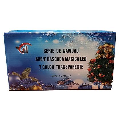600L SERIE DE CASCADA MULTICOLOR