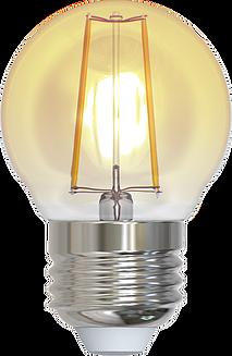 LAMPARA LED FILAMENTO G45 E26 2W LUZ AMBAR 1800K