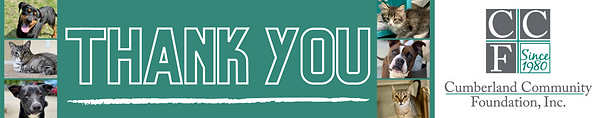 """""""We want to thank Cumberland Community Foundation and its donors for their support for our"""