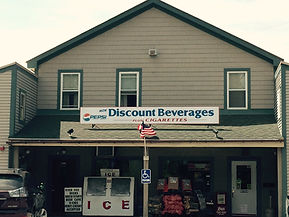 Discount Beverages plus Cigaretts store front