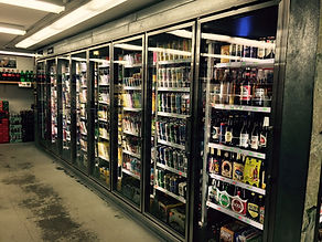 The Beer Cave at Discount Beverages plus Cigaretts