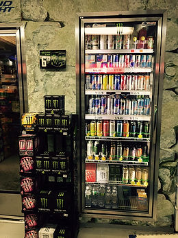 Discount Beverages plus Cigaretts Energy Drinks
