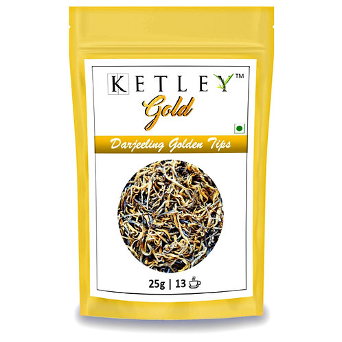 Ketley Gold Darjeeling Golden Tips Speciality Tea