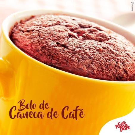 Bolo de Caneca de Café