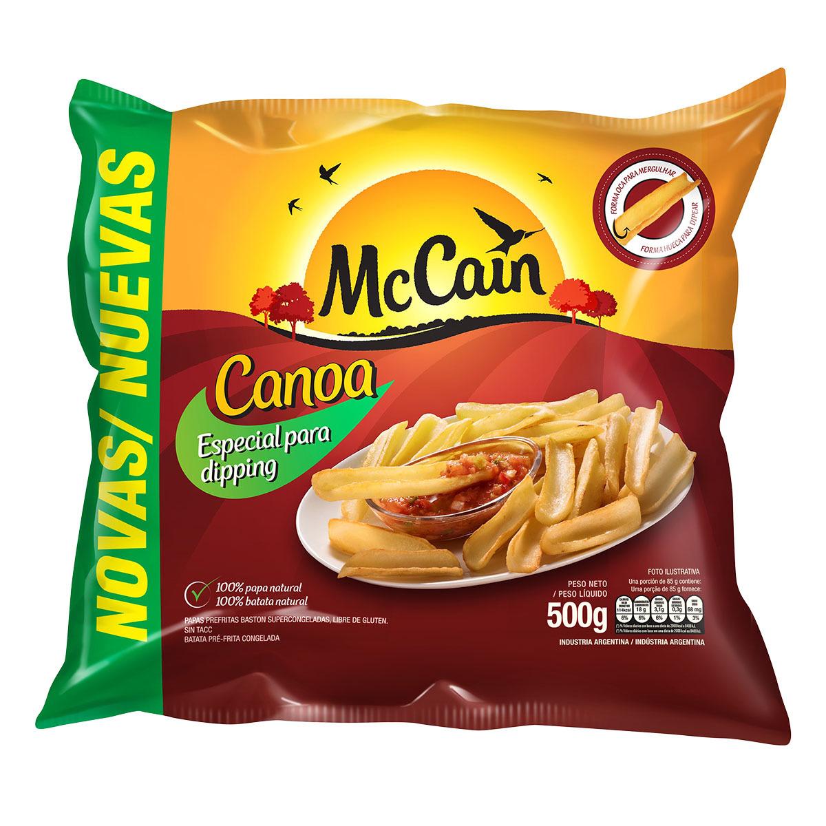McCain Canoa 500g