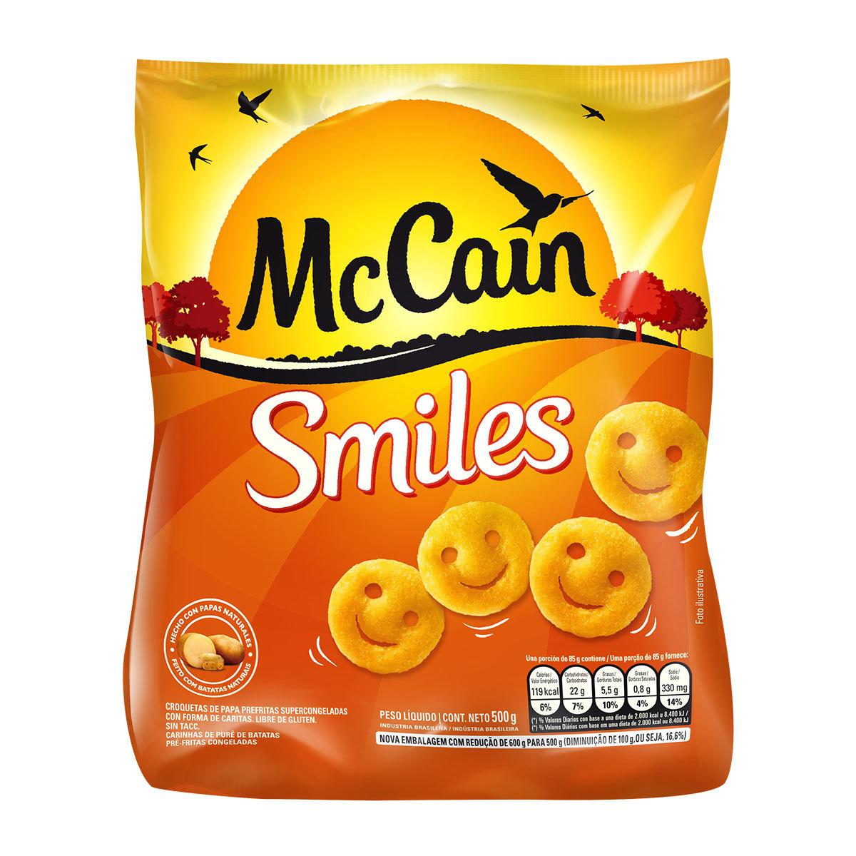 McCain Smiles 600g
