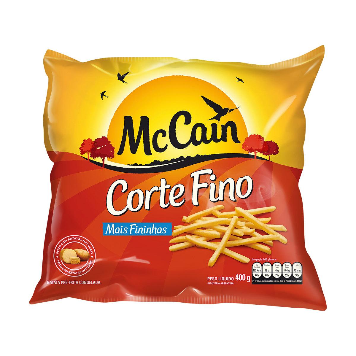 McCain Corte Fino 400g