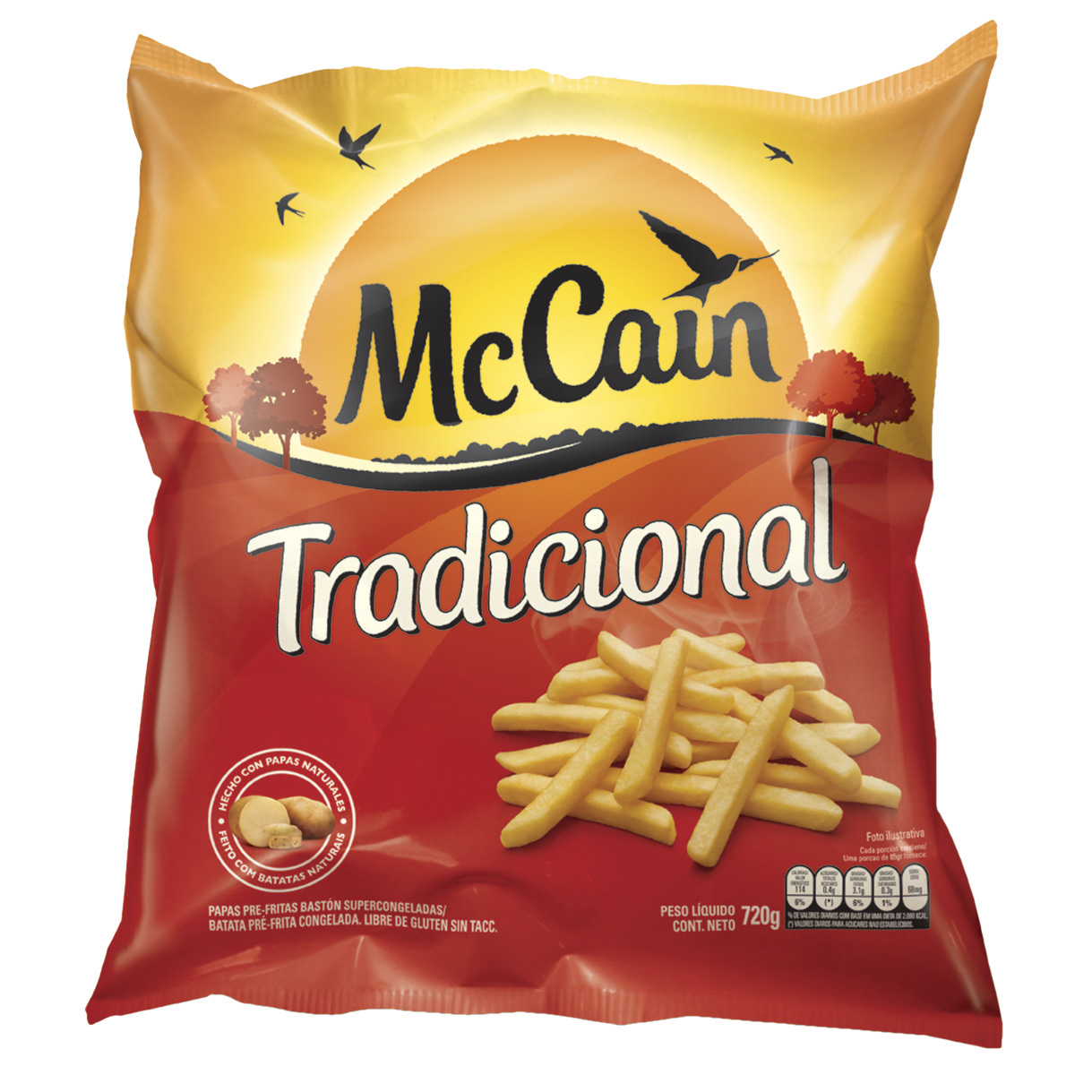 McCain Tradicional 720g