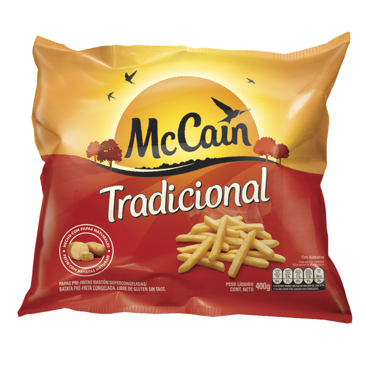 McCain Tradicional 400g