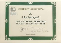 Laser diodowy i frakcyjny
