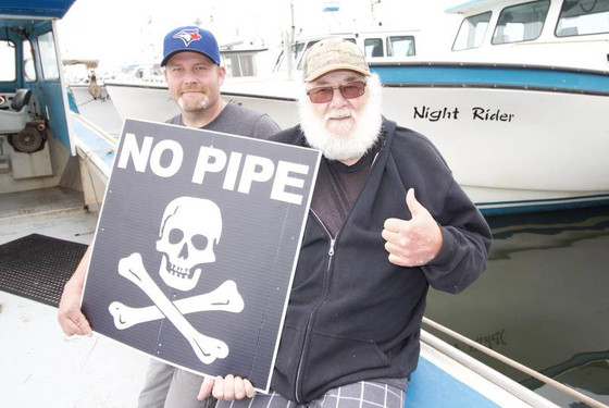 OPINION: #NoPipe activists won't pipe down