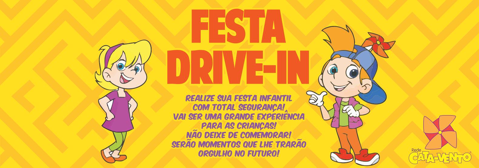 Banner - Festa Drive In