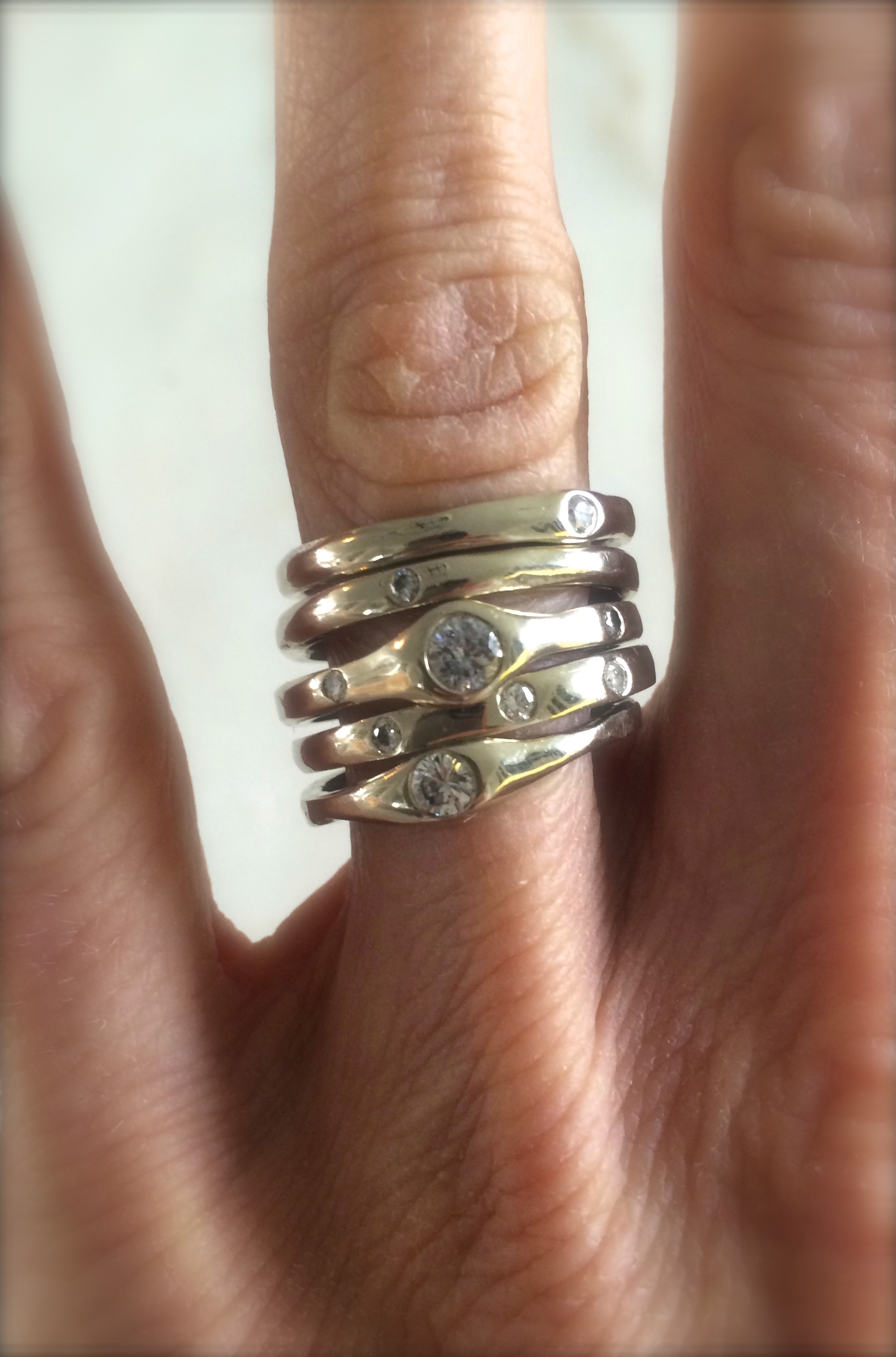 Stacked Ring Set