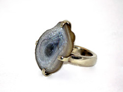 Pronged Druse Ring